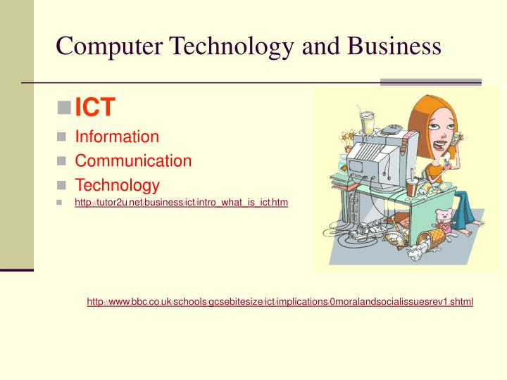Computer Technology and Business