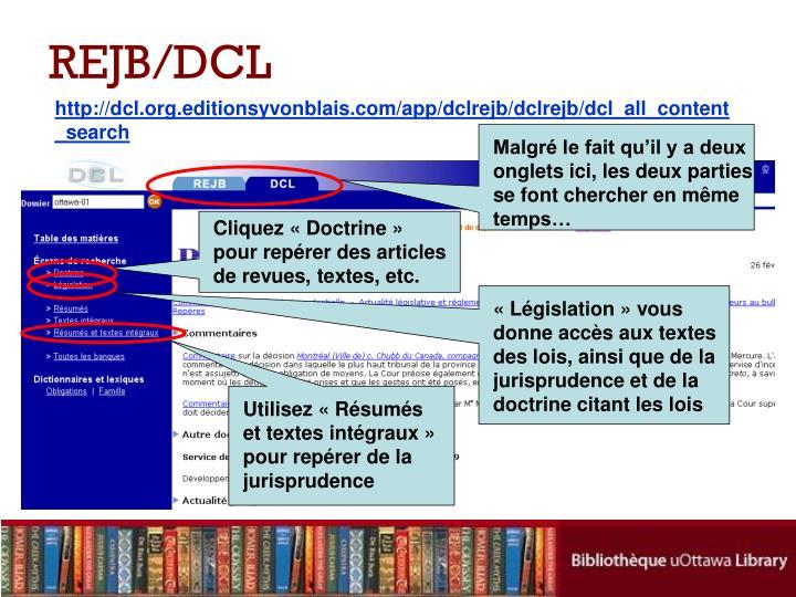 REJB/DCL