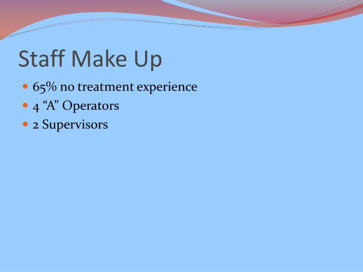 Staff Make Up