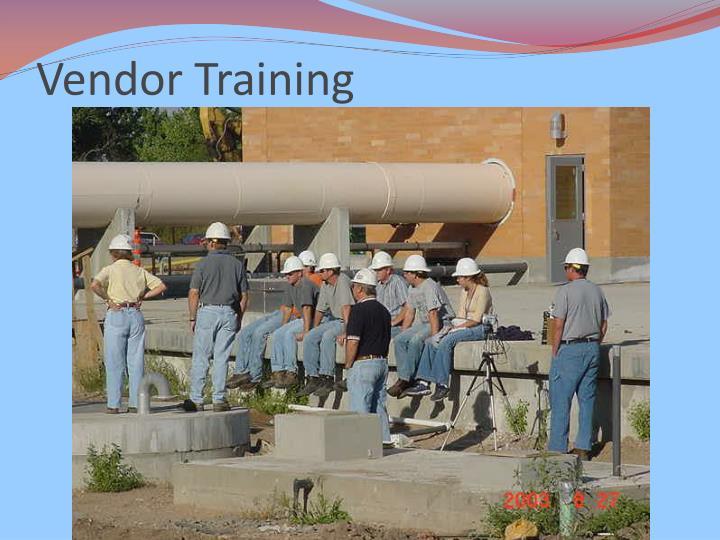 Vendor Training