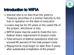 introduction to wifia4