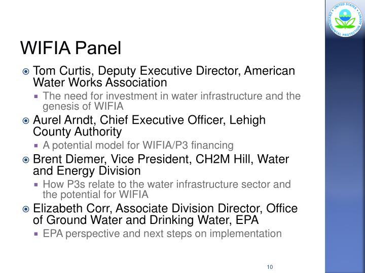 WIFIA Panel