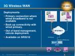 3g wireless wan