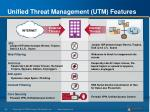 unified threat management utm features