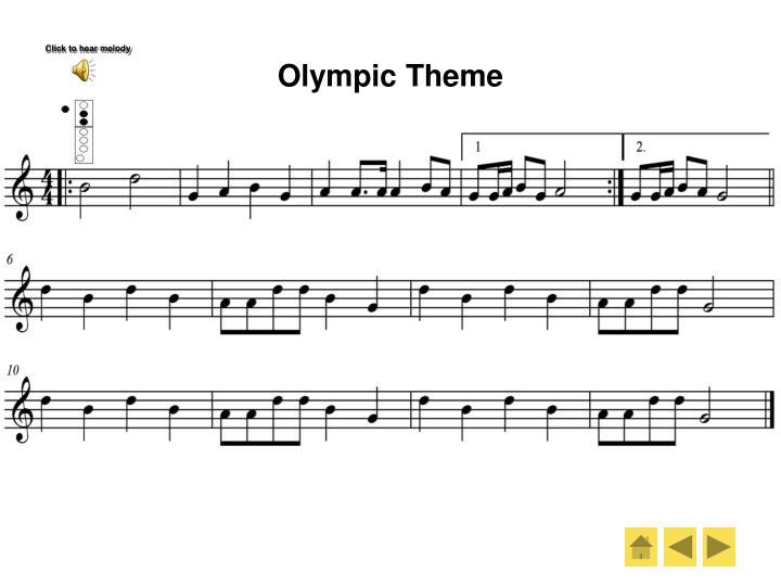 Olympic Theme