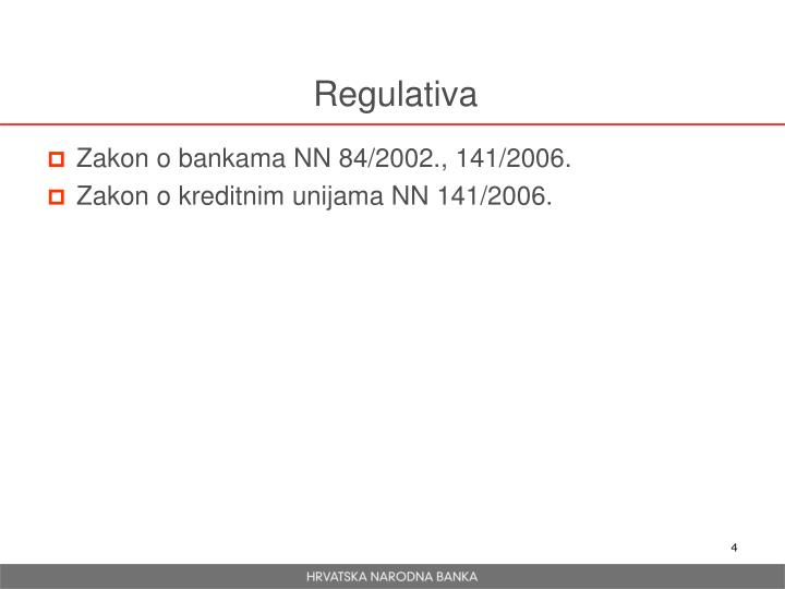 Regulativa