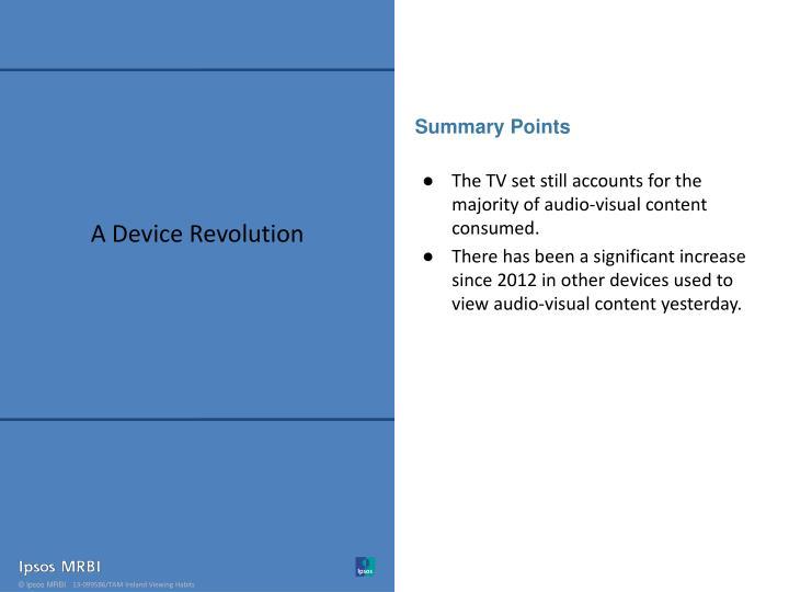 A Device Revolution