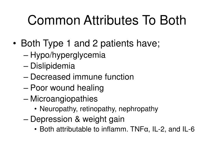 Common Attributes To Both