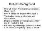 diabetes background