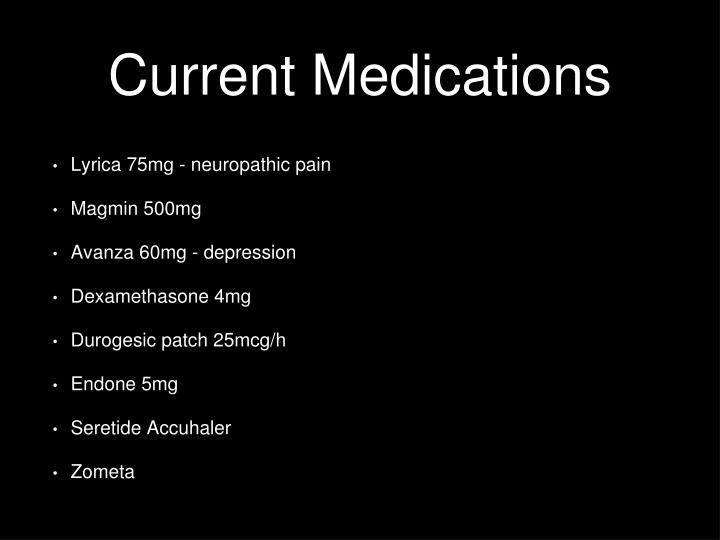 Current Medications