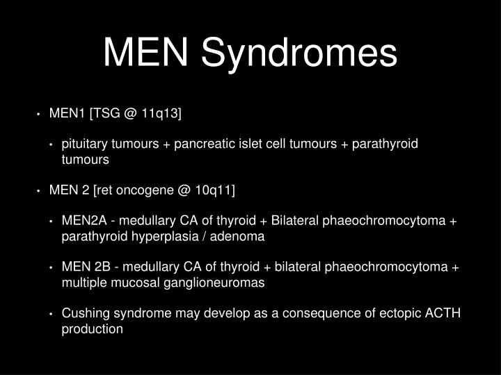 MEN Syndromes