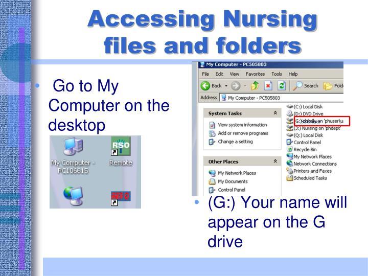 Accessing Nursing