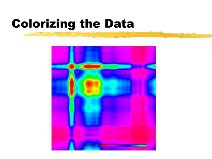 Colorizing the Data