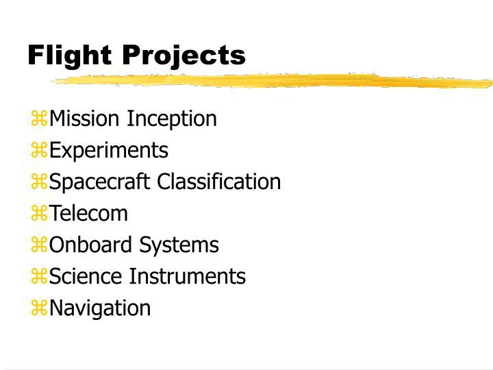Flight Projects