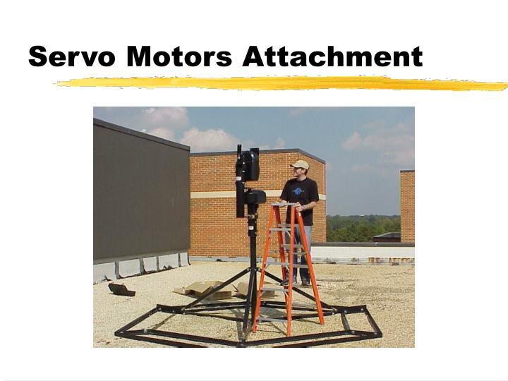 Servo Motors Attachment