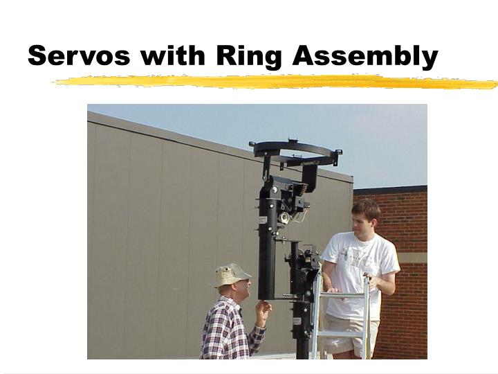 Servos with Ring Assembly