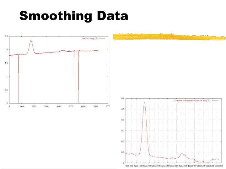 Smoothing Data