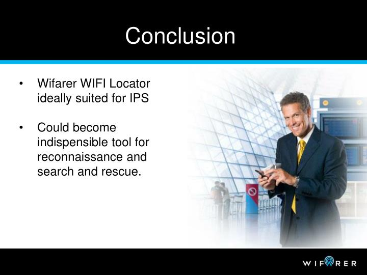Wifarer WIFI Locator ideally suited for IPS