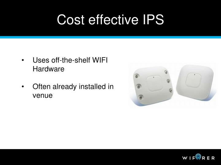 Cost effective IPS