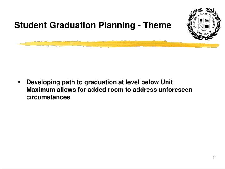 Student Graduation Planning - Theme