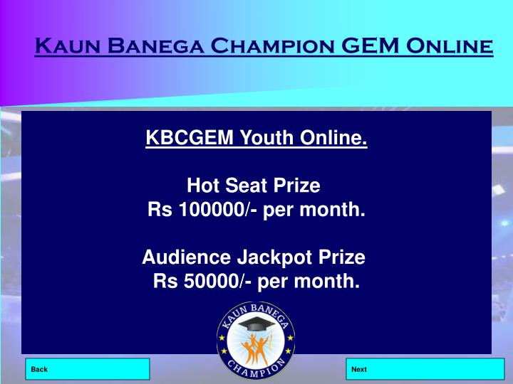 Kaun Banega Champion GEM Online