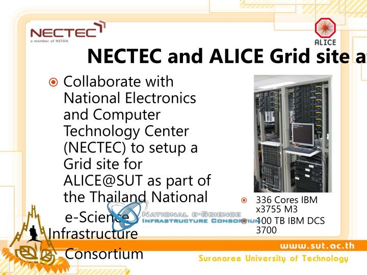 NECTEC and ALICE