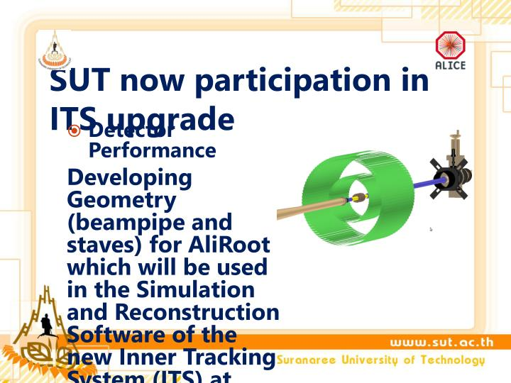 SUT now participation in