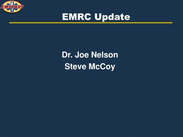 EMRC Update