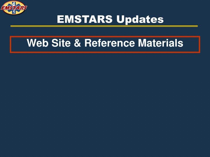 EMSTARS Updates