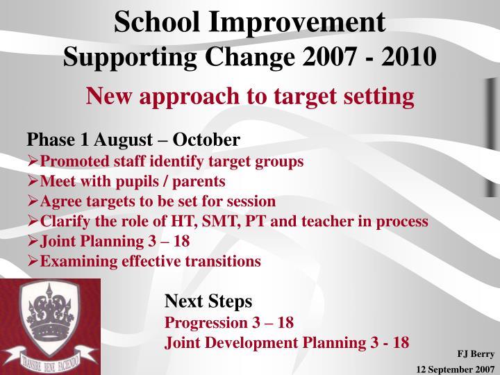 School Improvement