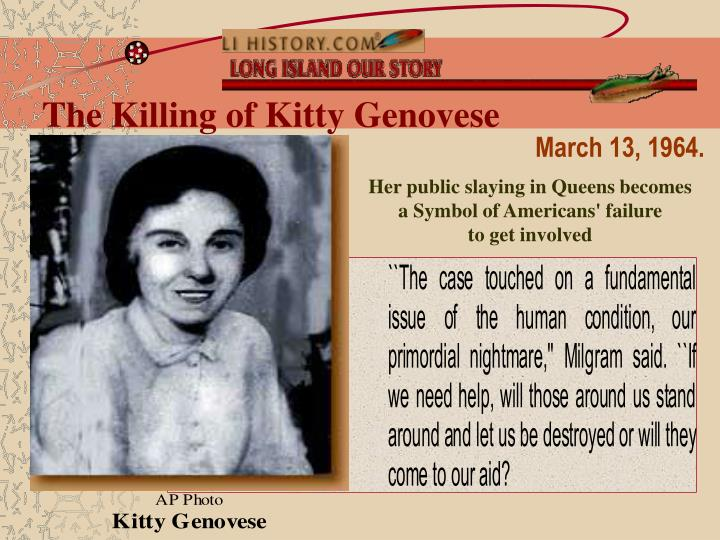 The Killing of Kitty Genovese