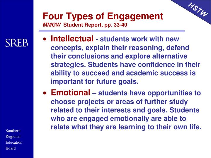 Four Types of Engagement