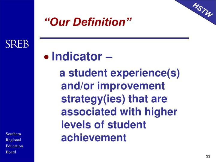 """""""Our Definition"""""""