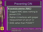 preventing cin2