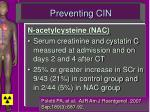 preventing cin4