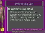 preventing cin5