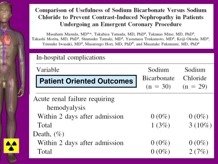 Patient Oriented Outcomes