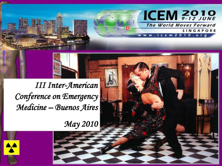 III Inter-American Conference on Emergency Medicine – Buenos Aires