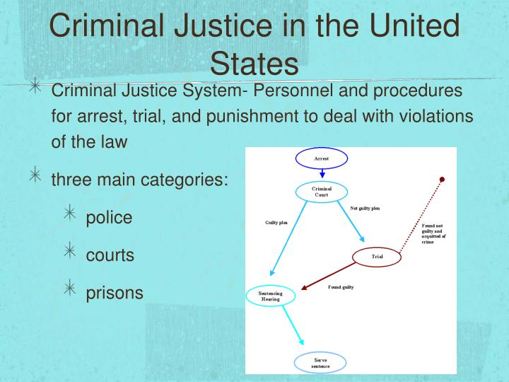 Criminal Justice in the United States