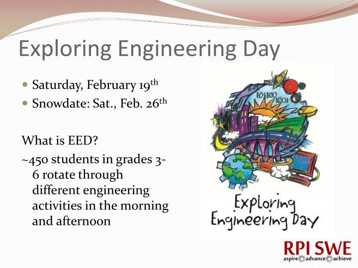 Exploring Engineering Day