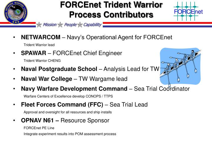 FORCEnet Trident Warrior