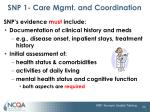 snp 1 care mgmt and coordination12