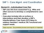 snp 1 care mgmt and coordination14