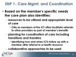 snp 1 care mgmt and coordination16
