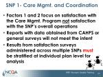 snp 1 care mgmt and coordination19