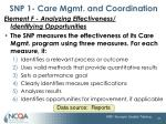snp 1 care mgmt and coordination21