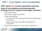 snp 1 care mgmt and coordination22