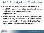 snp 1 care mgmt and coordination25