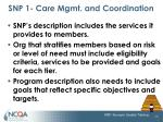 snp 1 care mgmt and coordination7