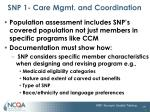 snp 1 care mgmt and coordination9